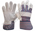 Leather Double Palm Working Gloves JEI-1123N