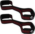 Padded Cuff Weight Lifting Training Gym Straps