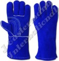 Kevlar Stitched Leather Welding Gloves Lined JEI-1129N