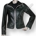 Ladies Short Fitted Soft Leather Jacket JEI 7376