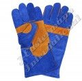 Kevlar Stitched Leather Welding Gloves Lined JEI-1126N