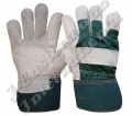 Grain Leather Double Palm Working Gloves JEI-1124NG
