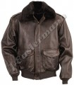 Antique Lambskin Leather Bomber Jacket JEI 7324